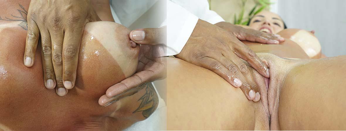 Massagem safada com Elisa Sanches